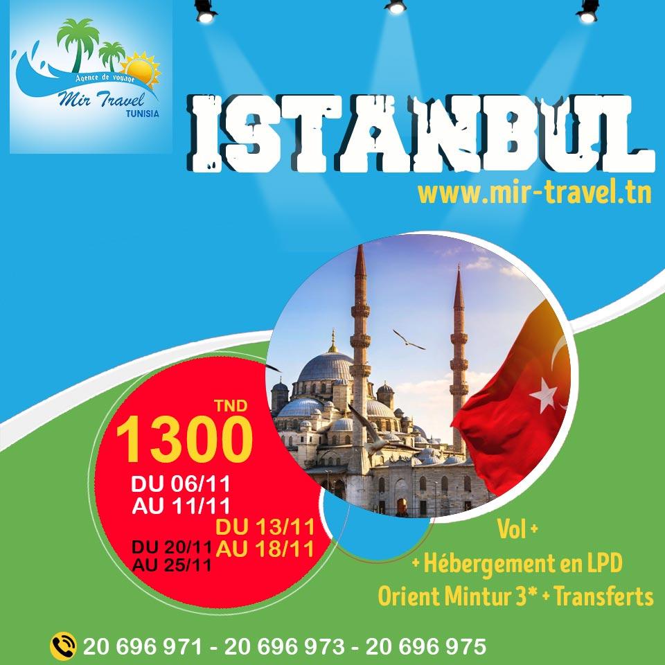 ISTANBUL - OCTOBRE 2019